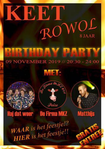 Keet Rowol - Poster - Enjoy Events