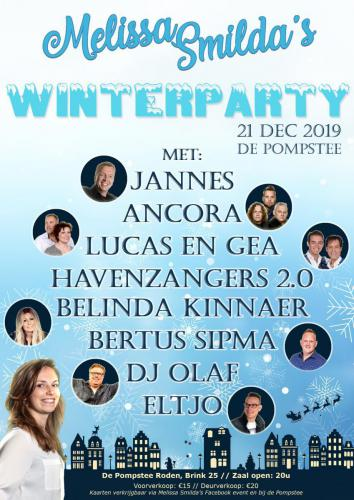 Melissa's WinterParty - Poster - Enjoy Events