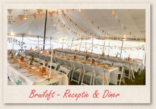 Bruiloft - Receptie & Diner