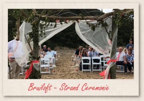 Bruiloft - Strand Ceremonie