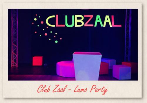 Club Zaal Lumo Party