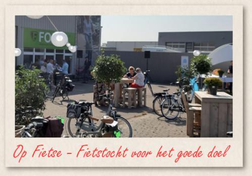Op Fietse - fietstocht voor het goede doel