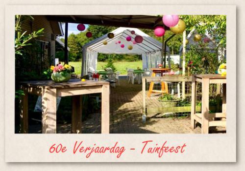 60e Verjaardag - Tuinfeest