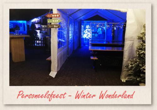 Personeelsfeest - Winter Wonderland