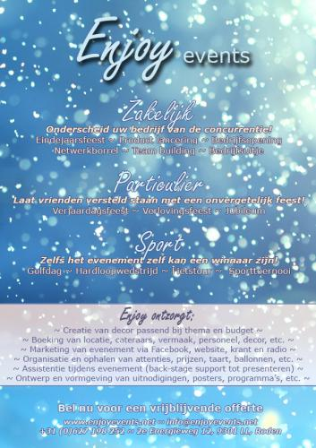 Winter flyer - Enjoy Events